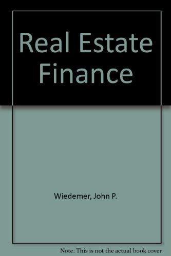 9780835965224: Real Estate Finance