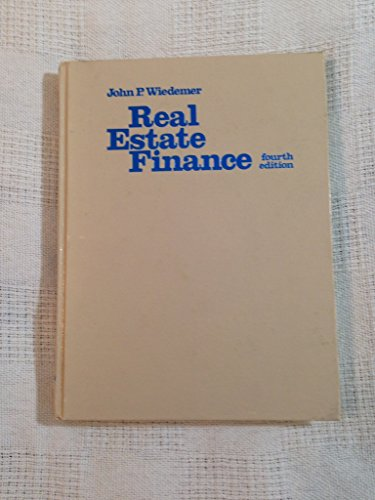 9780835965590: Real Estate Finance Edition: fourth