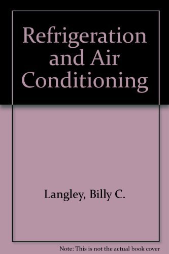 9780835966177: Refrigeration and Air Conditioning