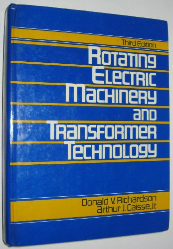 9780835967471: Rotating Electric Machinery and Transformer Technology