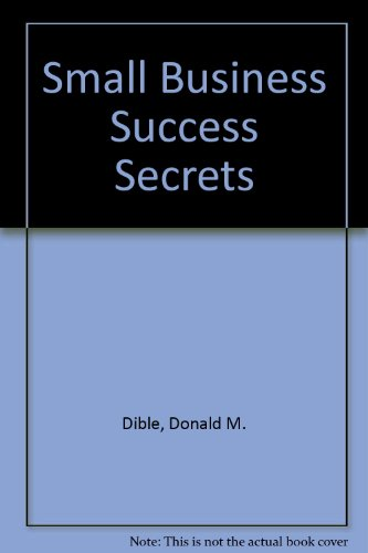 9780835970105: Small Business Success Secrets