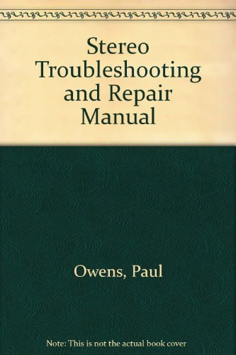 9780835970822: Stereo Troubleshooting and Repair Manual
