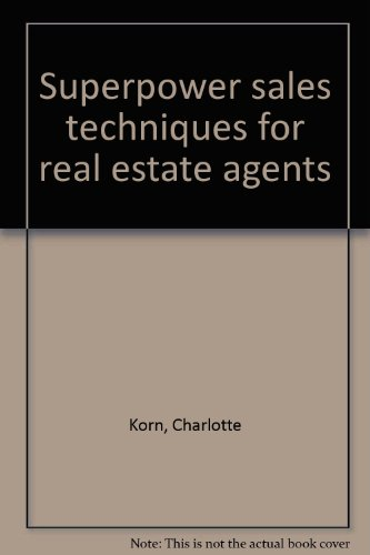 9780835973311: Superpower sales techniques for real estate agents