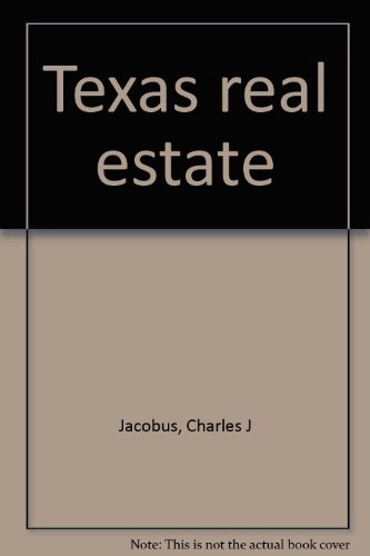 9780835975544: Texas real estate