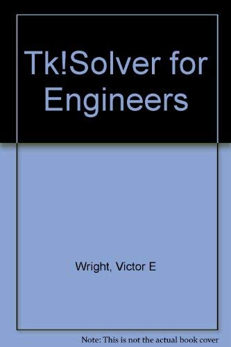 9780835977111: TK! Solver for Engineers
