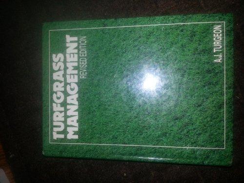 9780835978835: Turf Grass Management