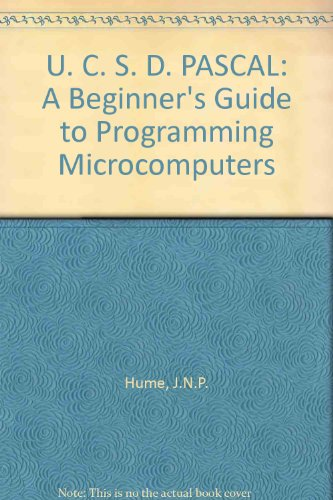 9780835979139: U. C. S. D. PASCAL: A Beginner's Guide to Programming Microcomputers