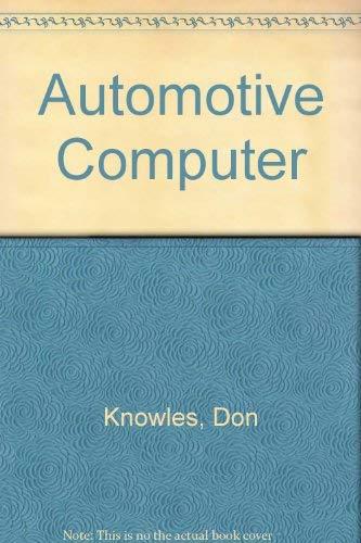 9780835993531: The Automotive Computer