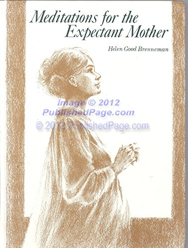 9780836116397: Meditations for the Expectant Mother