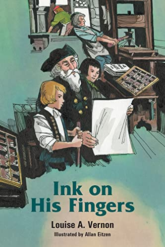 9780836116731: Ink on His Fingers (Louise a. Vernon Historical Fiction Series, 12)