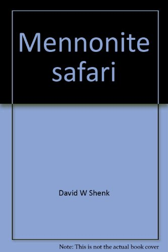 9780836117332: Mennonite safari