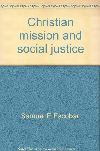 9780836118551: Christian mission and social justice (Missionary studies)