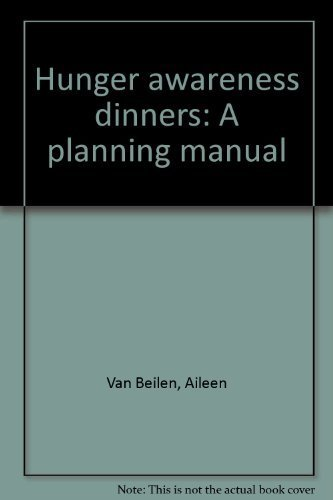 9780836118797: Hunger awareness dinners: A planning manual