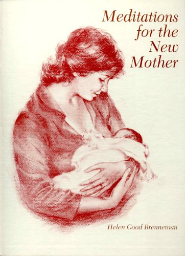 9780836134001: Meditations for the New Mother