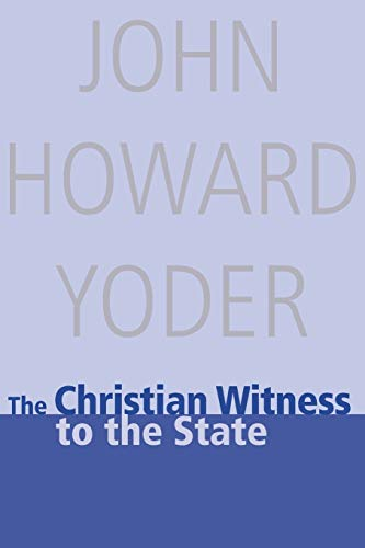 9780836192094: The Christian Witness to the State