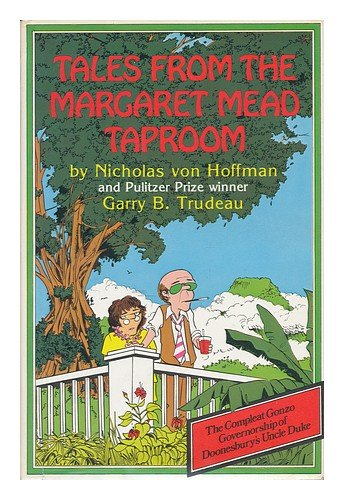 Tales from the Margaret Mead taproom: Von Hoffman, Nicholas
