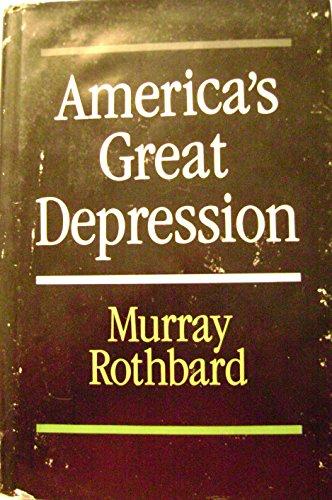 9780836206340: America's Great Depression (Studies in economic theory)