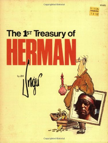 9780836211221: 1st Treasury of Herman (Andrews & McMeel Treasury Series)