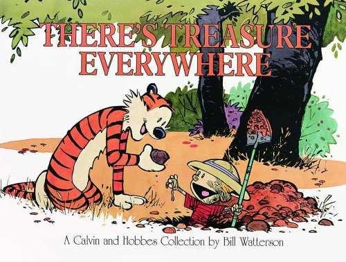 9780836213133: Calvin and Hobbes: There's Treasure Everywhere