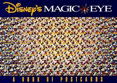 9780836232073: Disney's Magic Eye: A Book of Postcards