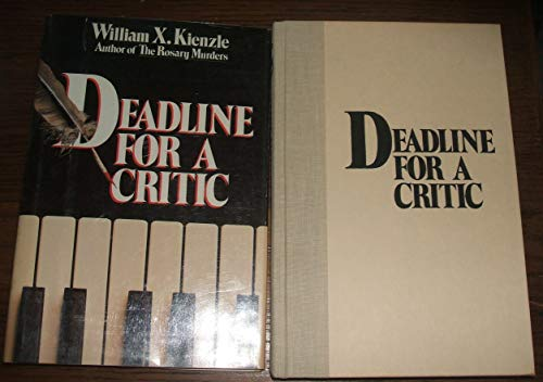 9780836261233: Deadline for a Critic (Father Koesler Mystery)