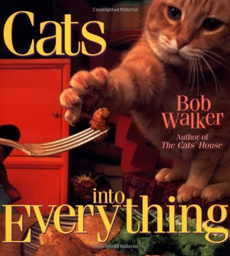 Cats into Everything 9780836269178 Looks at the lives of the nine cats who live in the author's feline-friendly home, and how they rule the roost and lives of their human companions.