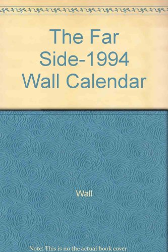 9780836273649: The Far Side-1994 Wall Calendar