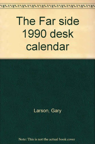 9780836274462: The Far side 1990 desk calendar