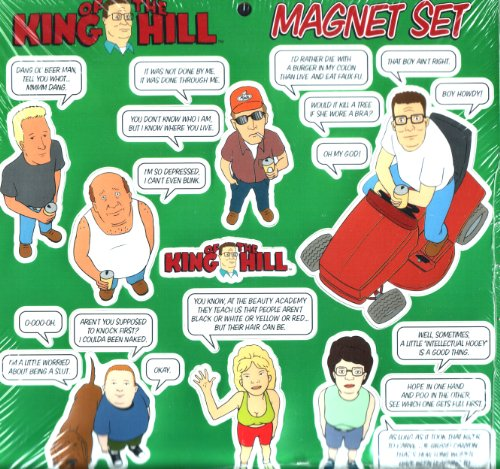 9780836278279: King of the Hill Magnet Set