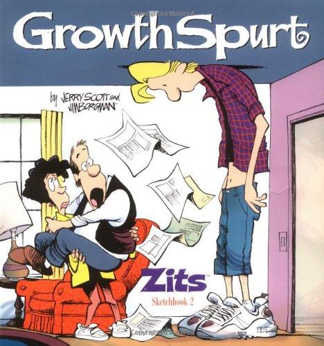 9780836278484: Growth Spurt: Zits Sketchbook 2