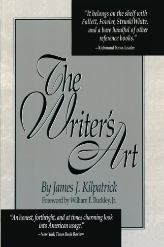9780836279252: The Writer's Art