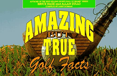 9780836279948: Amazing but True Golf Facts