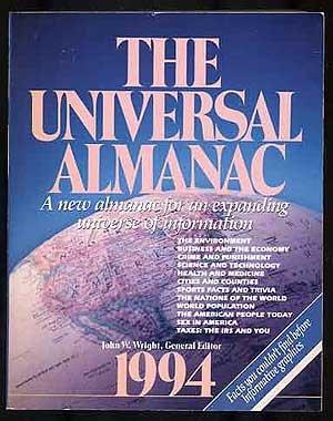 9780836280326: The Universal Almanac, 1994
