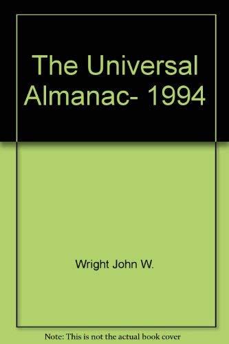 9780836280333: The Universal Almanac, 1994