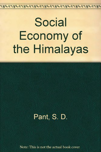 9780836424317: Social Economy of the Himalayas