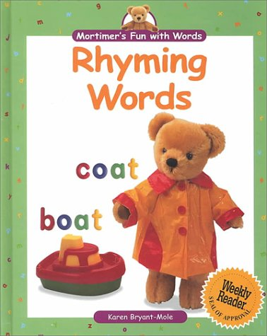 9780836827514: Rhyming Words (Mortimer's Fun With Words)