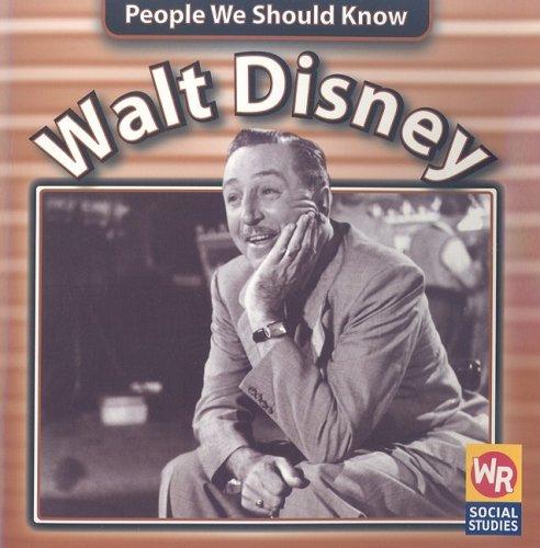 9780836847536: Walt Disney (People We Should Know)