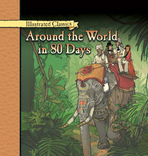 9780836876628: Around the World in 80 Days (Illustrated Classics)
