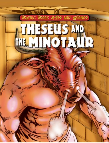 Theseus and the Minotaur (Graphic Greek Myths: Gilly Cameron Cooper
