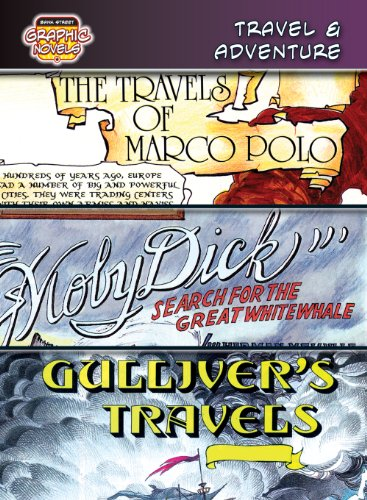 9780836879377: Travel & Adventure /The Travels of Marco Polo/ Moby Dick/ Gulliver's Travels: The Travels of Marco Polo/Moby Dick/Gulliver's Travels (Bank Street Graphic Novels)