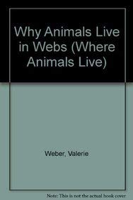 9780836888058: Why Animals Live in Webs (Where Animals Live)