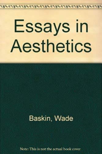 essays in aesthetics jean-paul sartre