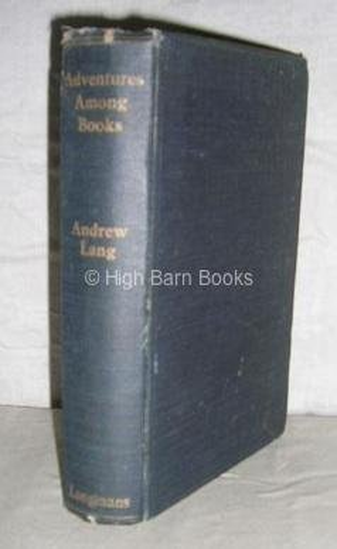 9780836914740: Adventures Among Books (Essay index reprint series)