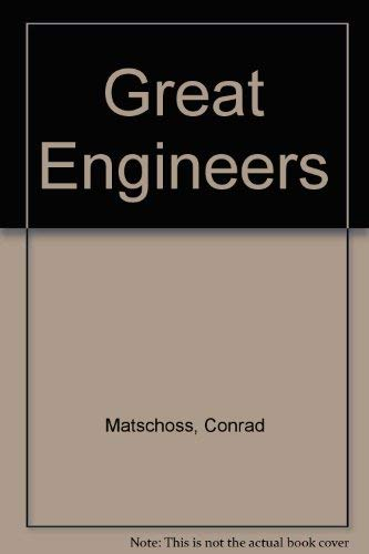9780836918373: Great Engineers (Essay index reprint series)