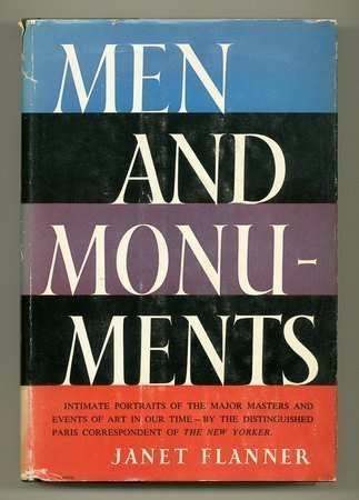 9780836918762: Men and Monuments
