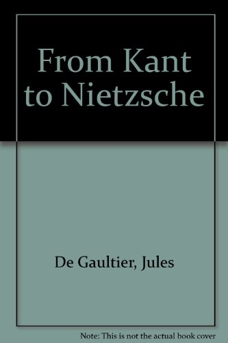 from kant to nietzsche essay index reprint series stock image