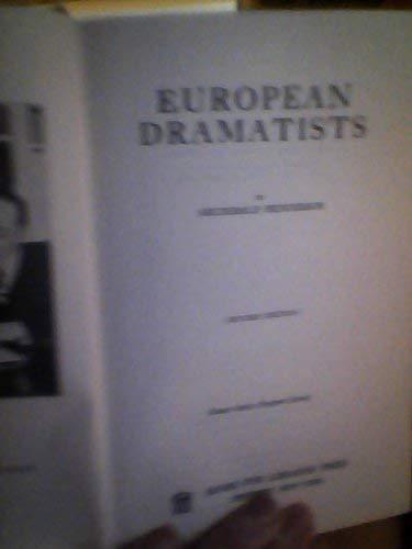 9780836921632: European Dramatists (Essay index reprint series)
