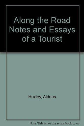 9780836922295: Along the Road Notes and Essays of a Tourist (Essay index reprint series)