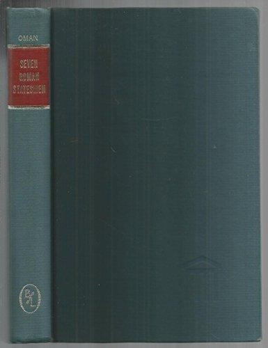 9780836922882: Seven Roman Statesmen of the Later Republic: The Gracchi, Sulla, Crassus, Cato, Pompey, Caesar (Essay index reprint series)