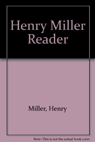 9780836926644: Henry Miller Reader (Essay index reprint series)